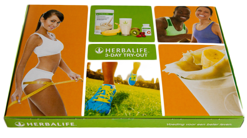 Herbalife try out pakket